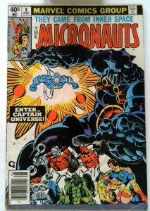 Micronauts #8 Marvel 1979 VG Bronze Age 1st Printing Comic Book