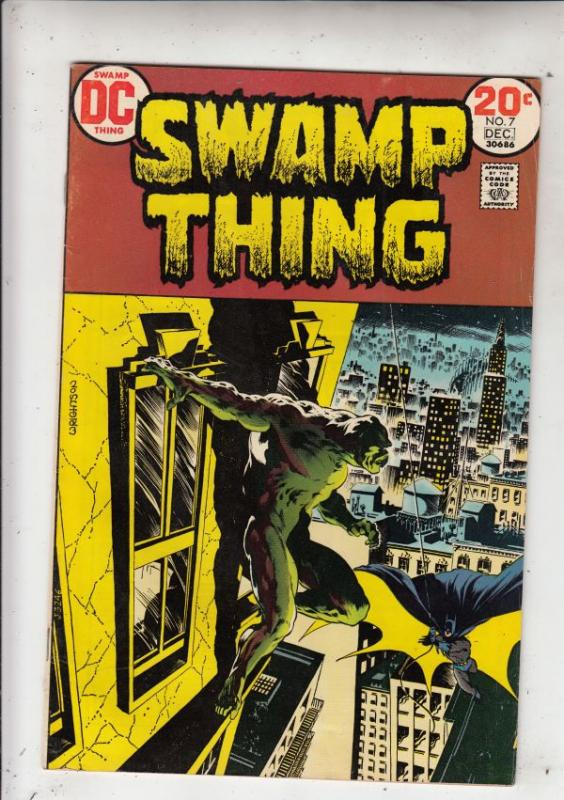 Swamp Thing #7 (Dec-73) VF+ High-Grade Swamp Thing