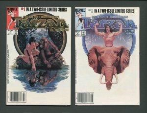 Tarzan of the Apes #1  #2 (SET) NM   July 1984
