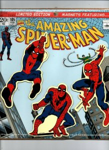 Amazing Spiderman Magnets - Limited Edition #7143 Sealed MIP - 1999 -