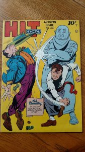 Hit Comics #33 (Quality, 1944) Condition: FN+