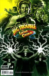 Big Trouble In Little China #4A VF/NM; Boom! | save on shipping - details inside