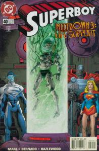 Superboy (3rd Series) #40 VF; DC | save on shipping - details inside