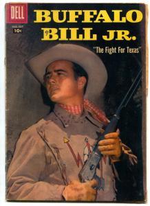 Buffalo Bill Jr #9 1958- Dick West Dell Western VG