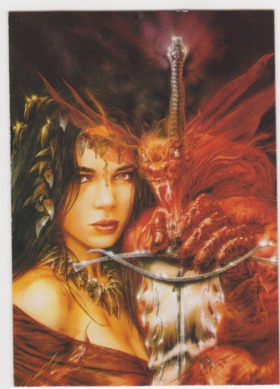 1997 Luis Royo Secret Desires Promo Card