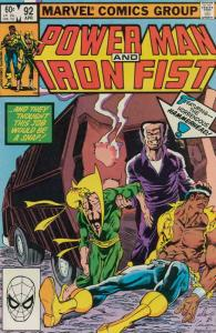 Power Man & Iron Fist #92 FN; Marvel   save on shipping - details inside