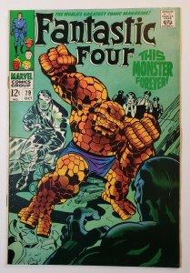 Fantastic four #79 Marvel Comics Silver Age 1968 VF/VF+