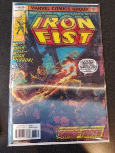 IRON FIST #73 PERKINS LENTICULAR HOMAGE Variant Cover Marvel Premiere