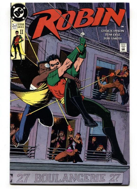 ROBIN #2 2nd print 1991-First appearance of KING SNAKE-comic NM-