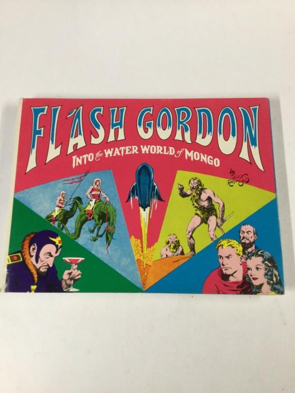 Flash Gordon Into The Water World Of Mongo 1936-1938 Alex Raymond Nostalgia B17