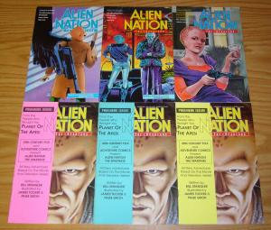 Alien Nation: the Spartans #1-4 VF/NM complete series + (2) variants - tv based