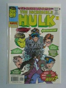 Incredible Hulk #1 Minus 1 Flashback NM (1997 1st Series)