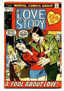 Our Love Story #27 1973- Marvel Romance- Hippie love story