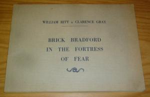 Brick Bradford in the Fortress of Fear SC FN+ william ritt - clarence gray 1971