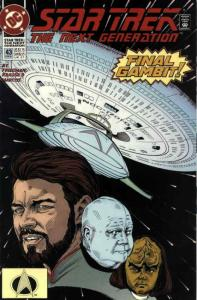 Star Trek: The Next Generation #43 VF/NM; DC | save on shipping - details inside