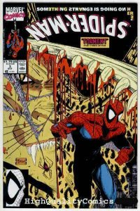 SPIDER-MAN #3, NM+, Todd McFarlane, 1990, Lizard, Torment, more Marvel in store