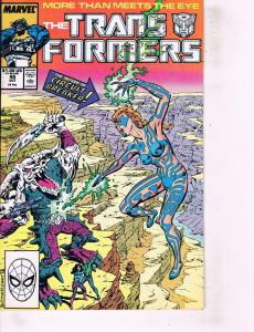 Lot Of 2 Marvel Comics Book Transformers #45 and Prince and Pauper #33 ON1