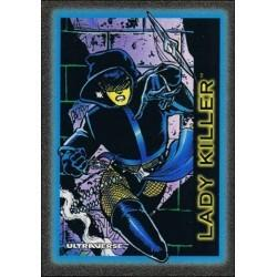 1993 Skybox Ultraverse: Series 1 LADY KILLER #17