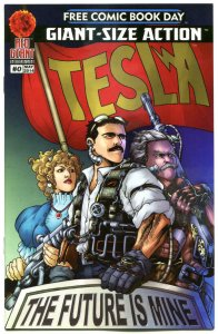 TESLA / WAYWARD SONS #0, NM, FCBD, Red Giant, 2014, more Promo / items in store