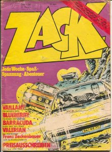 Zack #27 1973-Lt Bluberry-Baracudda-Michael Valiant-G