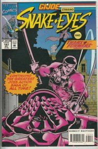 G.I. Joe # 141 Strict NM- High-Grade Cover Snake-Eyes, The Transfomers Wow