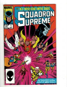 12 Squadron Supreme Marvel Comics 1 2 3 4 5 6 7 8 9 10 11 12 Limited Series HG1