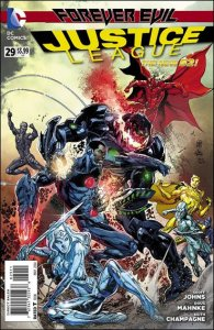 DC JUSTICE LEAGUE (2011 Series) #29 VF/NM