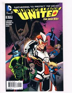 Justice League United # 5 NM 1st Print 1:25 Variant Cover DC New 52 Comic S81