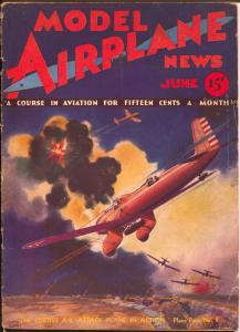 Model Airplane News 6/1932-Curtiss A8 Attack Plane In Action-Kotula-VG