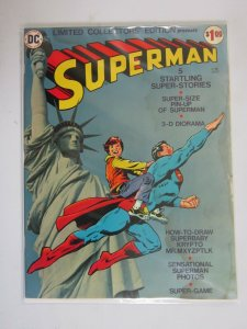 Superman DC Treasury Edition #38 3.0 GD VG bagged & boarded water damage (1975)
