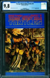 TEENAGE MUTANT NINJA TURTLES #35 CGC 9.8 -comic book 1991-2066889010
