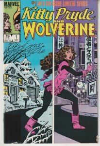 Kitty Pryde and Wolverine # 1  Kitty at The Mercy of A Long Lost Wolverine Foe
