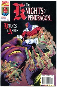 KNIGHTS of PENDRAGON #1, NM, 1990, Captain Britain, more Marvel in store