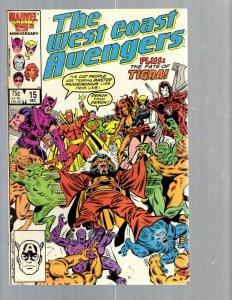 12 Comics West Coast Avengers 15 44 45 ANN #1 Hulk 459 Thor ANN #18 + more EK17