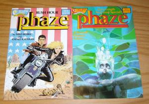 Phaze #1-2 VF complete series - bill sienkiewicz - paul gulacy - rafael kayanan