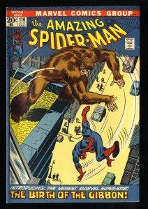 Amazing Spider-Man #110 VF 8.0 1st Gibbon!