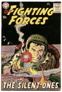 Our Fighting Forces #40 1958-DC Silver Age War comic VF