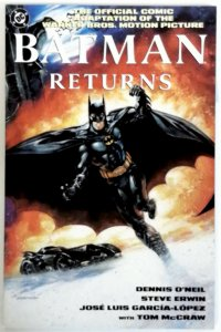Batman Returns Official Movie Adaption TPB Comic Novel DC Comics NM Near Mint