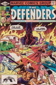 Marvel Comics The Defenders #99 VF+