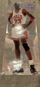 Michael Jordan Hang Time Bubble Gum Promo Poster 1991
