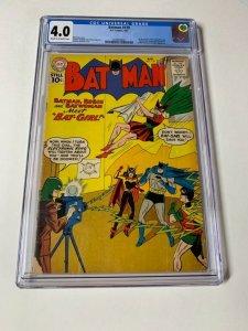 Batman 139 Cgc 4.0 1st Batgirl Dc Golden Age