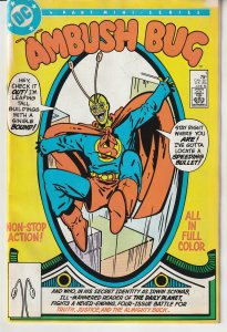 Ambush Bug(mini series, 1985) # 1  In His Own Limited Series !