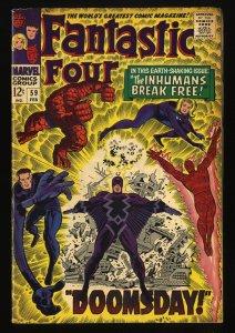 Fantastic Four #59 VG+ 4.5 Marvel Comics