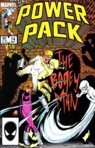 Power Pack (1984 series) #14, NM- (Stock photo)