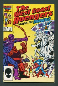 West Coast Avengers #8  9.4 NM  May 1986