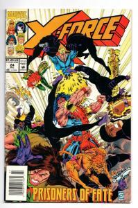 X-Force #24 (Marvel, 1993) FN-