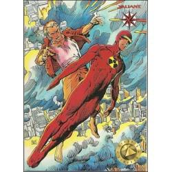 1993 Valiant Era SOLAR: MAN OF THE ATOM #3 - Card #26