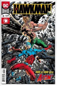 Hawkman #6 Main Cvr (DC, 2019) NM