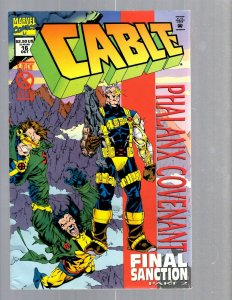12 Marvel Comics Cable #16 17 18 19-Deluxe 19 20 21 22 23 23 24 + Special EK17