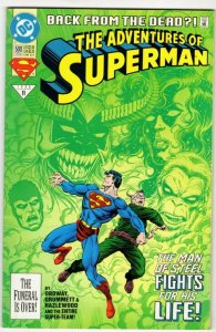 ADVENTURES OF SUPERMAN #500 (VF+) *$3.99 UNLMTD SHIPPING!*